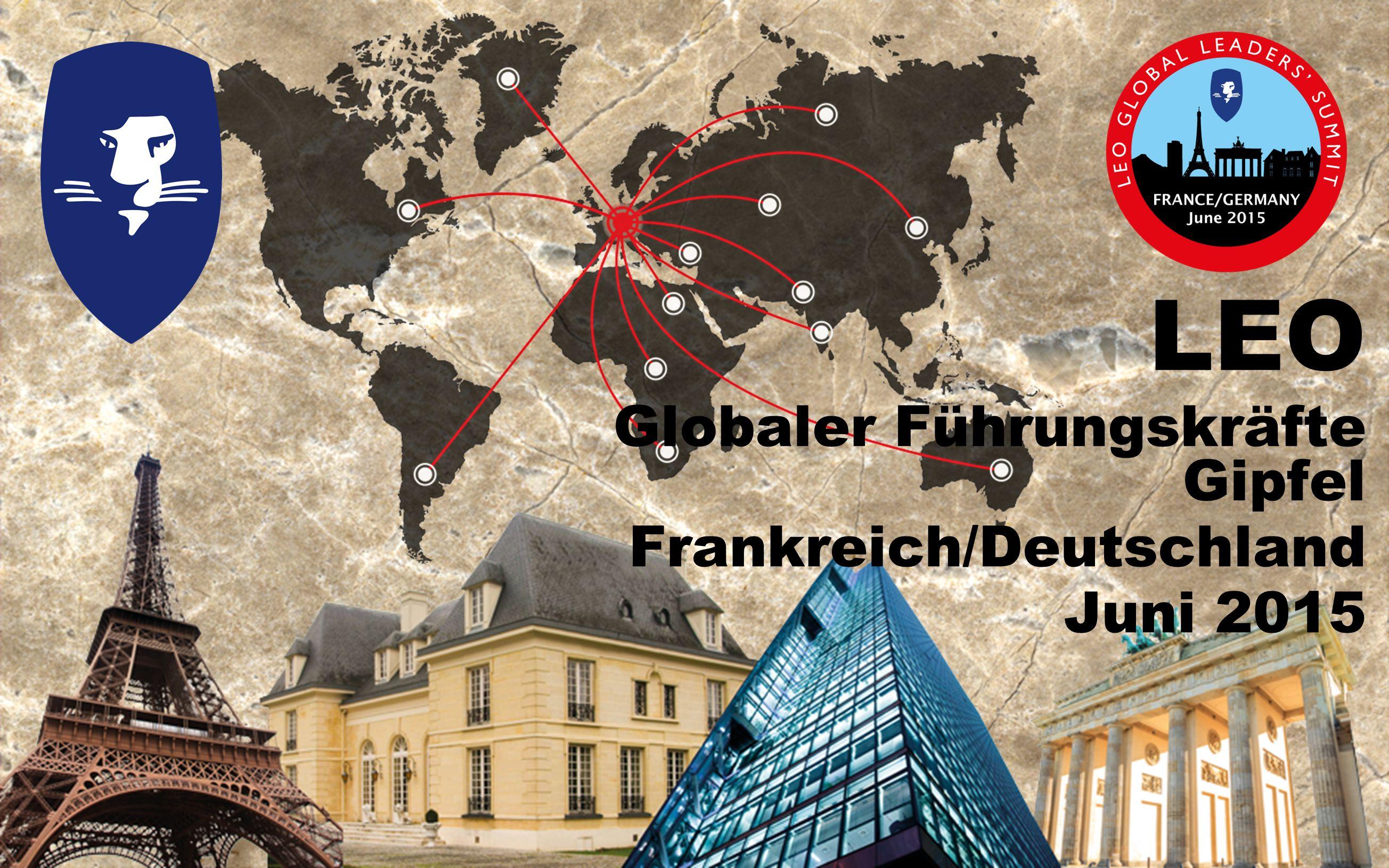 LEO Globaler Führungskräfte Gipfel Frankreich/Deutschland Juni 2015