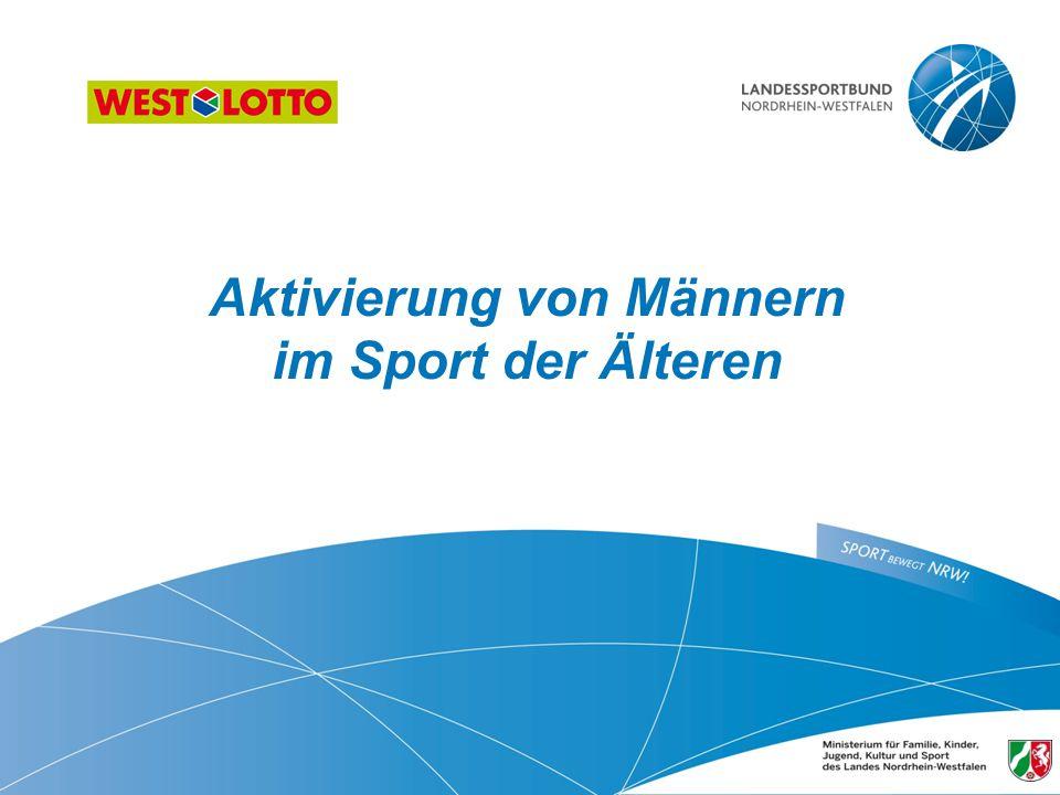 Aktivierung von Männern im Sport der Älteren