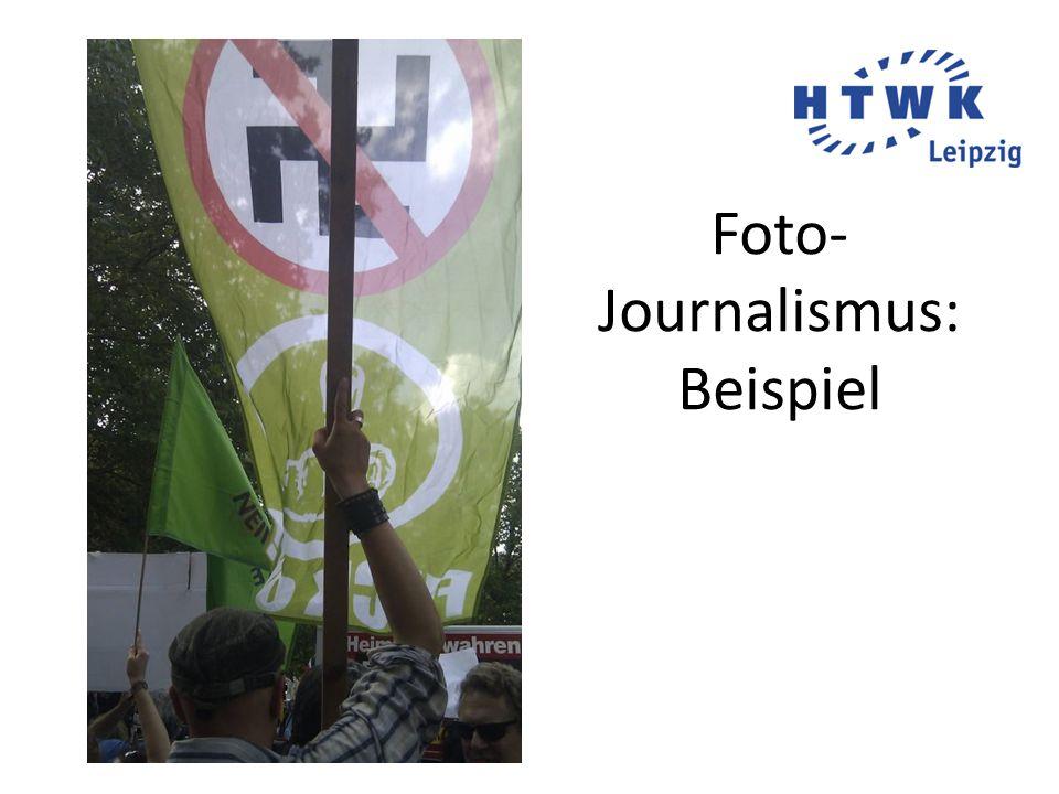 Foto- Journalismus: Beispiel