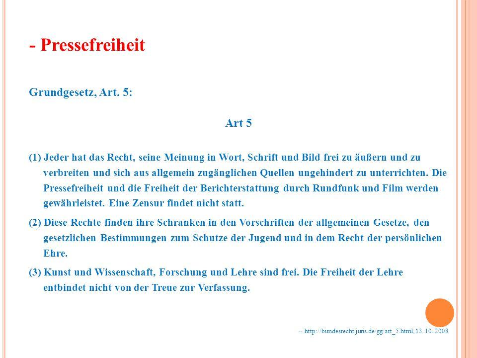 Grundgesetz, Art.