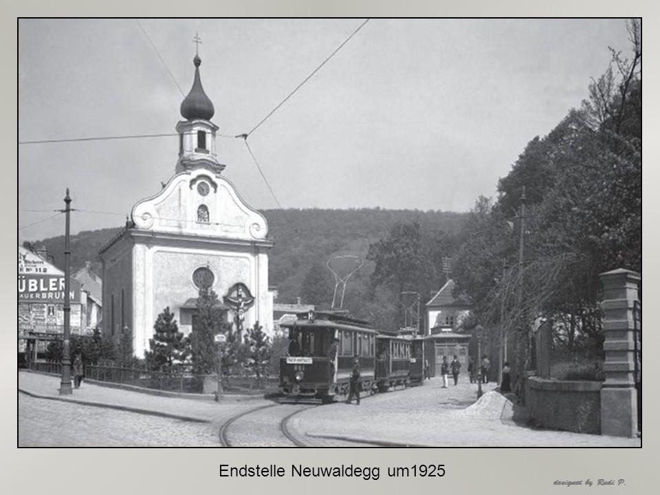 Endstelle Bellaria um 1925