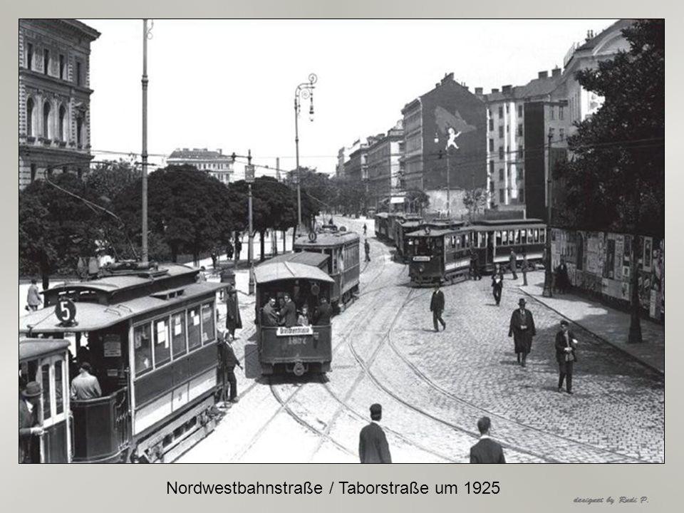 Ausfahrt Endstelle Grinzing Linie 38 um 1925