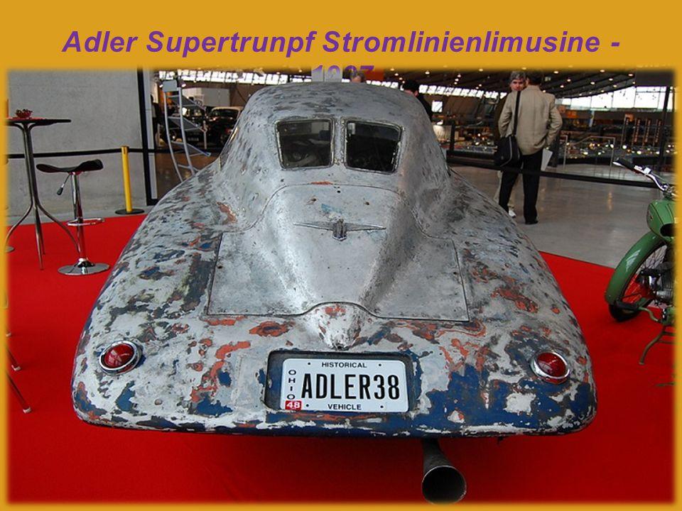 Adler Supertrumpf Stromlinienlimusine - 1937