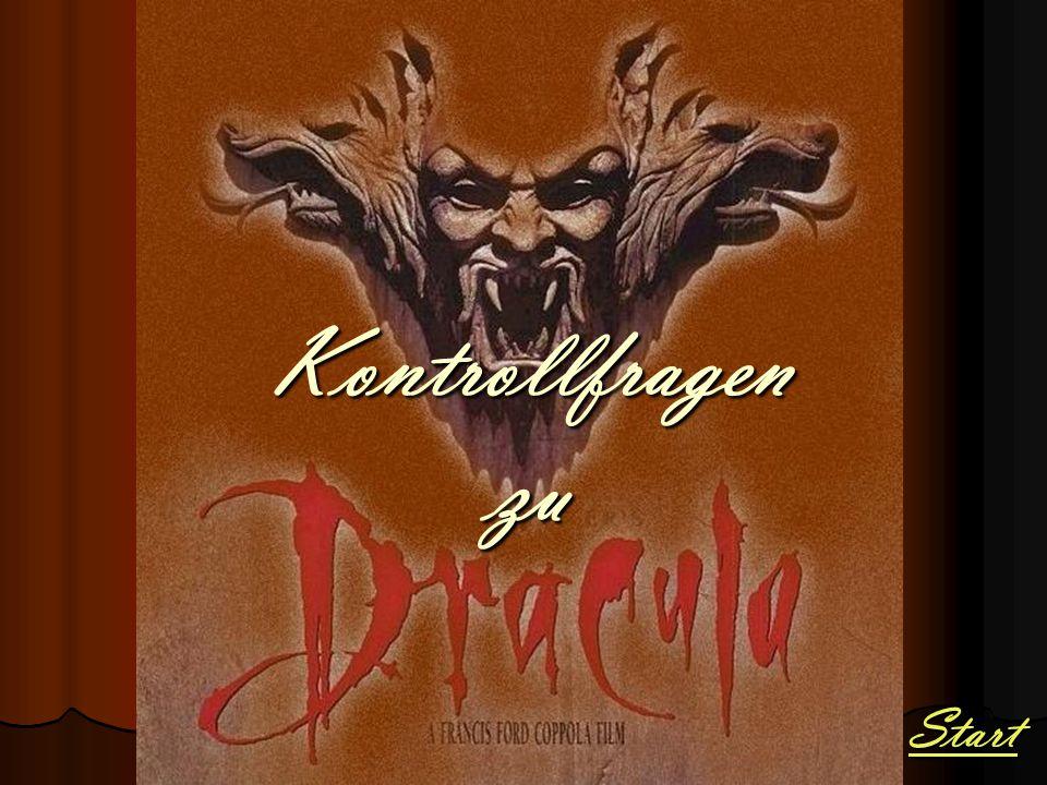"Wer verfasste den Roman ""Dracula ."
