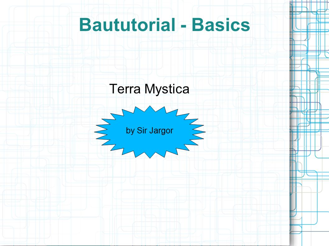 Baututorial - Basics Terra Mystica by Sir Jargor