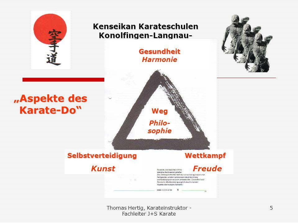"""Thomas Hertig, Karateinstruktor - Fachleiter J+S Karate 6 Kenseikan Karateschulen Konolfingen-Langnau- Schüpfheim """"Karatepolitische Ausrichtung"""