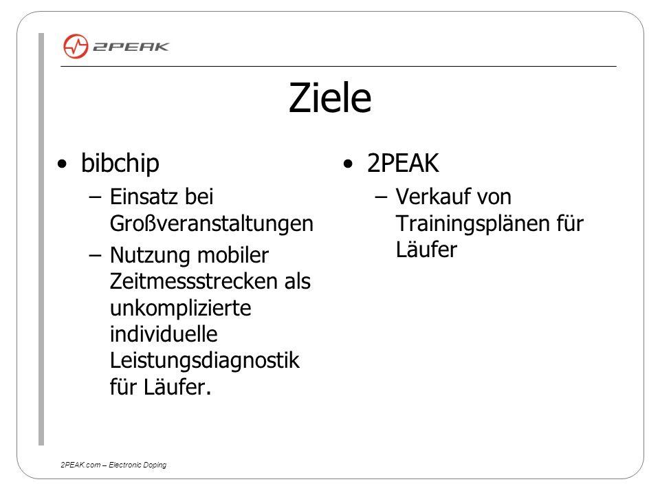 2PEAK.com – Electronic Doping Vision Berlinmarathon Der Athlet meldet sich beim Berlinmarathon an.