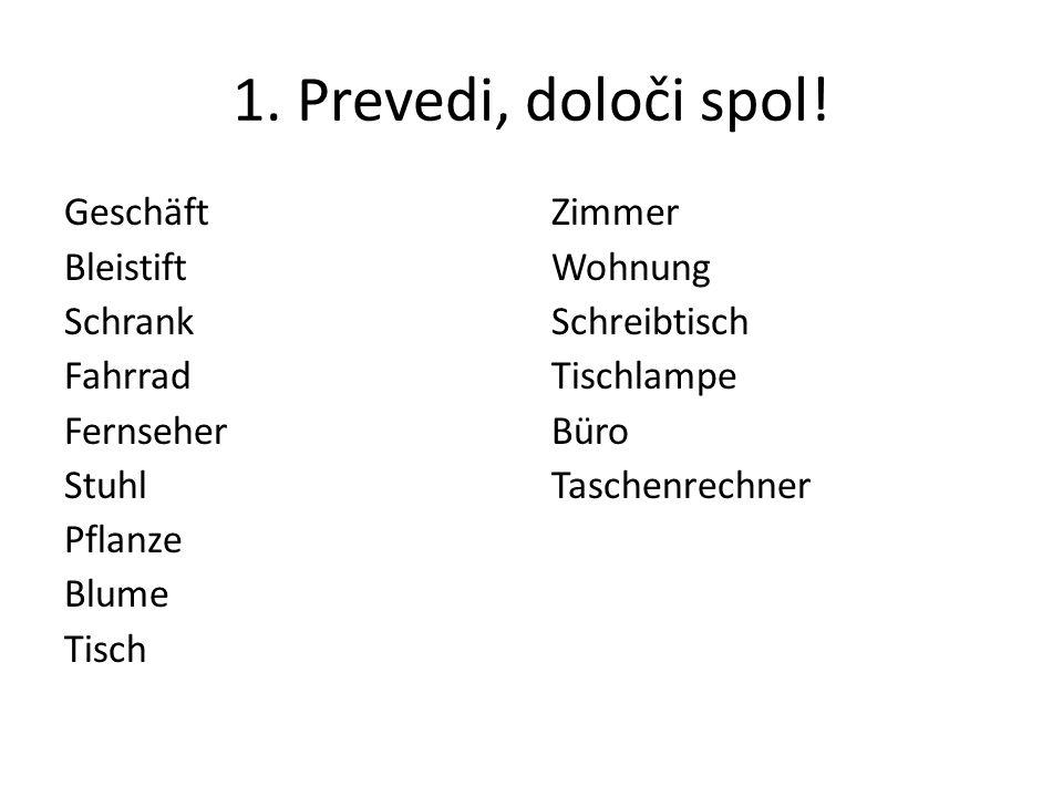 42.Neuer Wortschatz – Novo besedišče sich melden !GLEJ tudi prosojnice 21, 22 in 23.