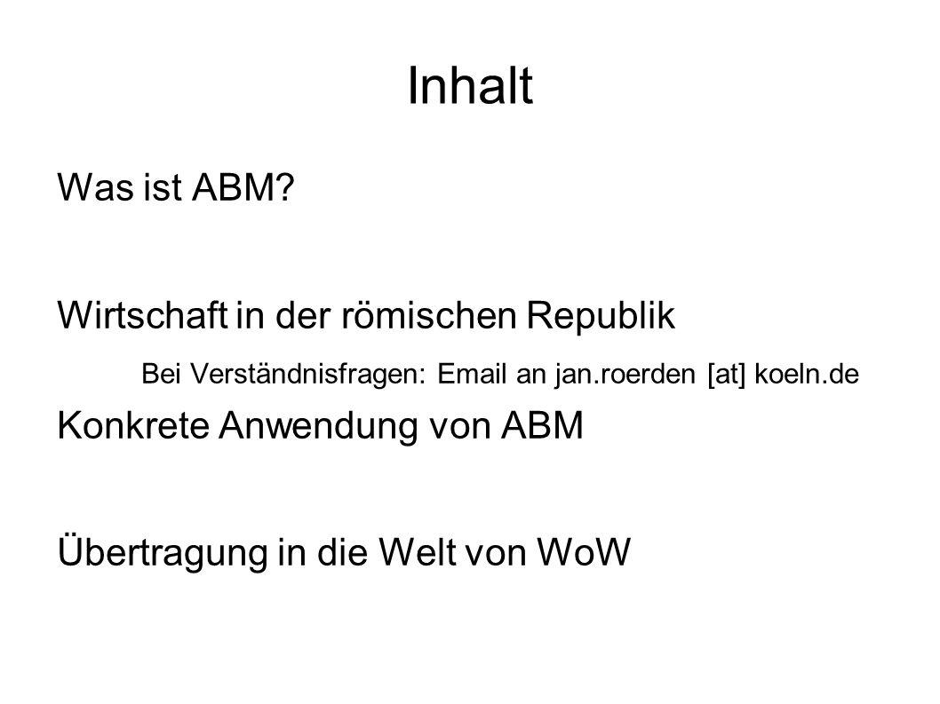 Inhalt Was ist ABM.