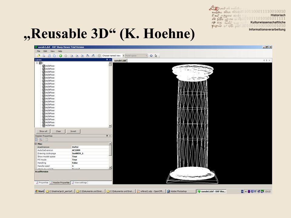 "03.04.20155CCC-VR 5 ""Reusable 3D (K. Hoehne)"