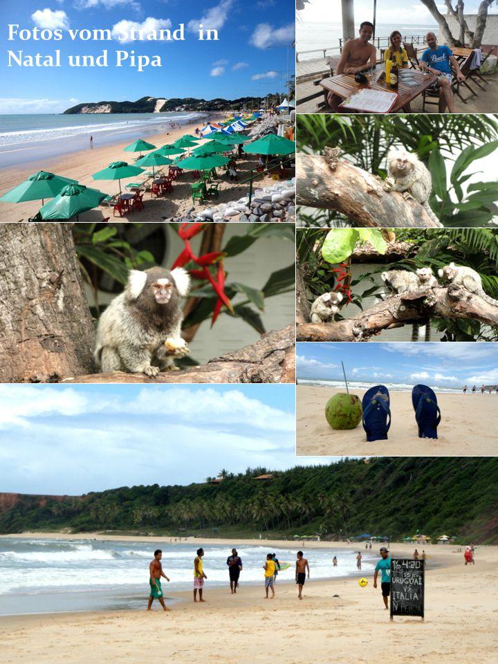Fotos vom Strand in Natal und Pipa