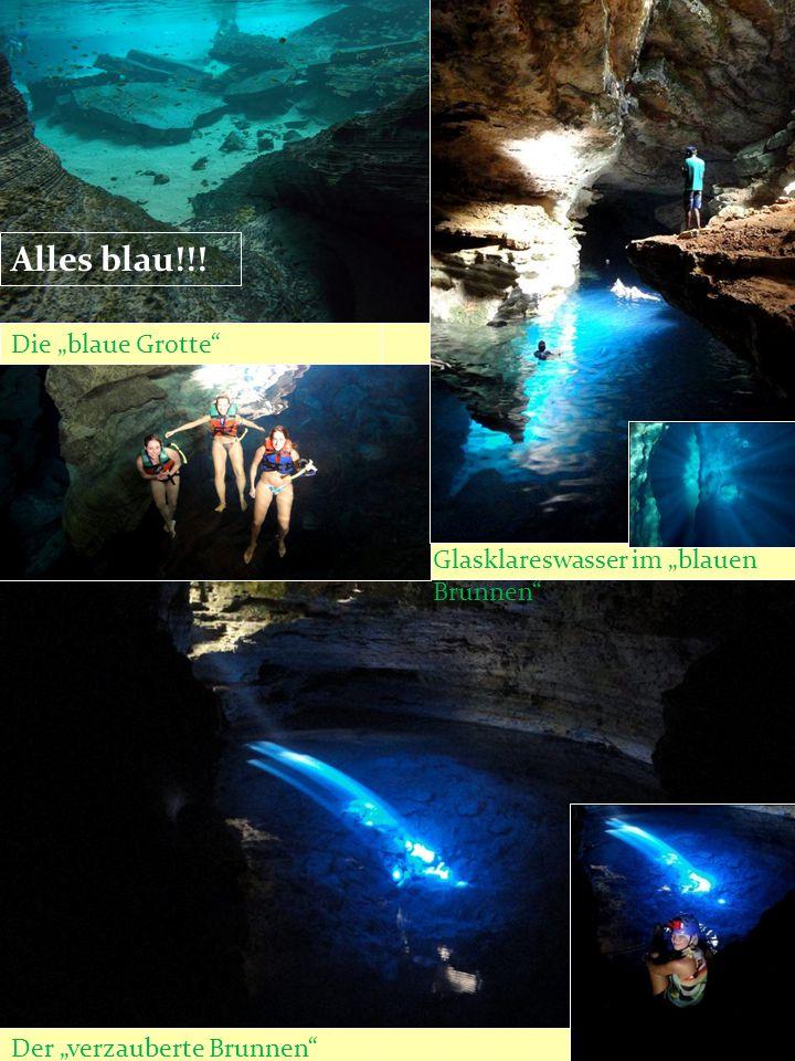 """Der """"verzauberte Brunnen"""" Die """"blaue Grotte"""" Glasklareswasser im """"blauen Brunnen"""" Alles blau!!!"""