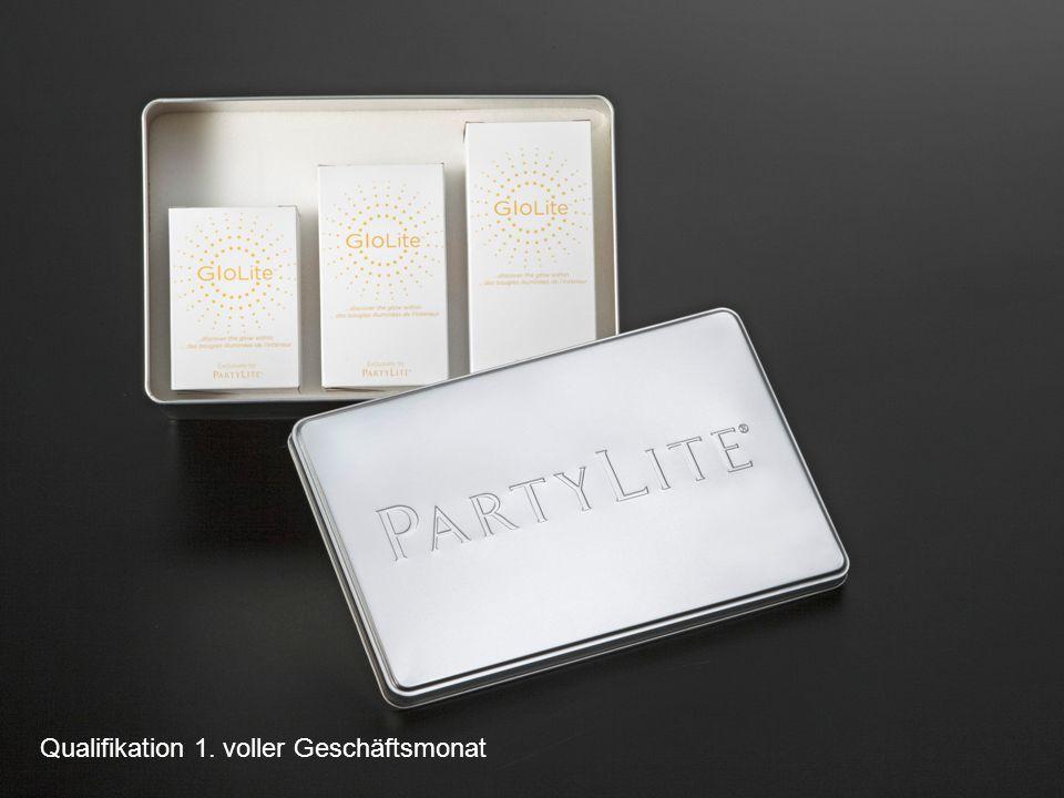 3 GloLite-Set Qualifikation 1. voller Geschäftsmonat