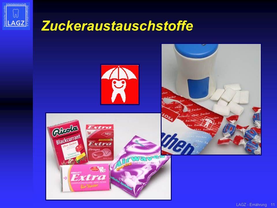 LAGZ - Ernährung11 Zuckeraustauschstoffe