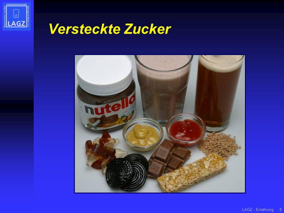 LAGZ - Ernährung8 Versteckte Zucker