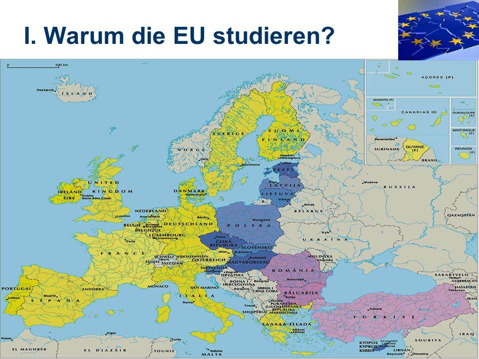 6 I. Warum die EU studieren?