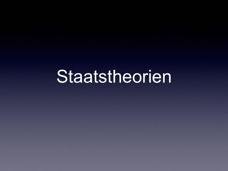 Staatstheorien