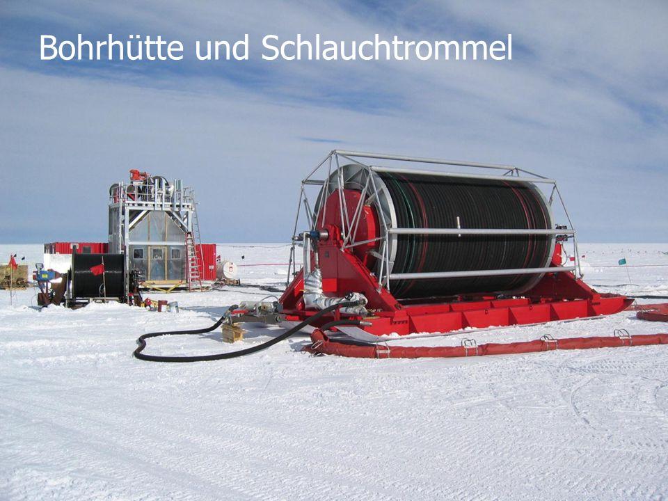 DESY Engineering Day, 2013-04 4/3/2015K.-H. Sulanke, DESY Zeuthen5 Bohrhütte und Schlauchtrommel