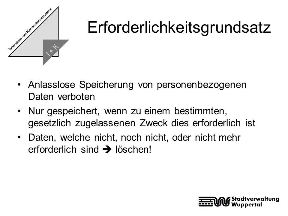1)Allgemeine Definition 2)Erforderlichkeitsgrundsatz 3)Politische Hintergründe 4)Was ist mit der VDS möglich.