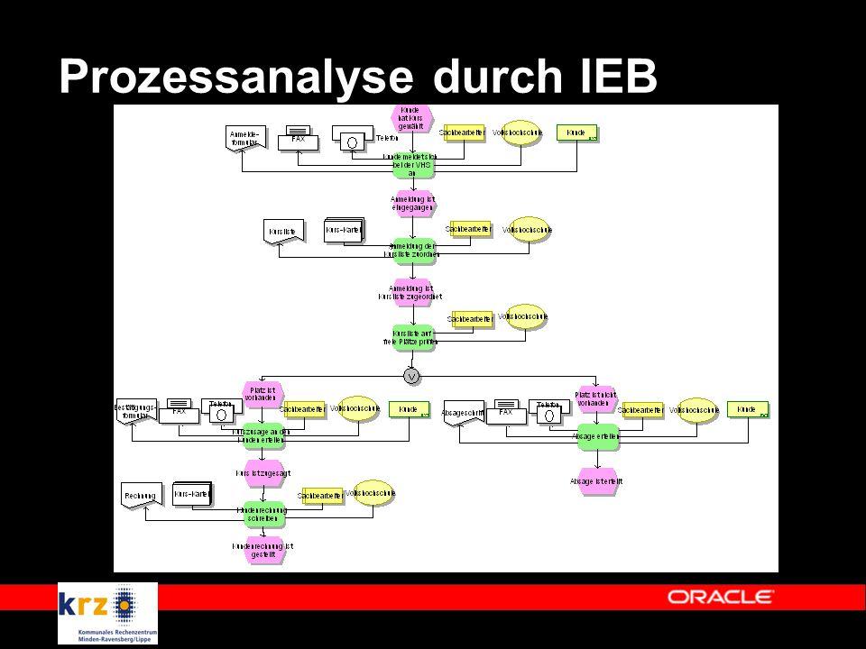 Prozessanalyse durch IEB