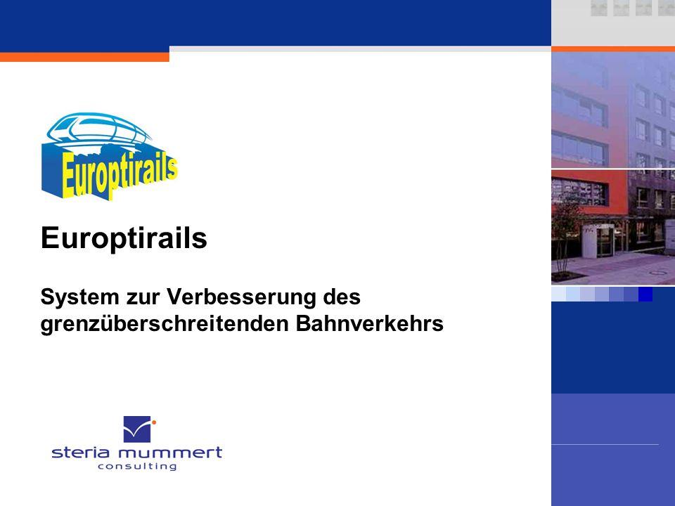 Europtirails System zur Verbesserung des grenzüberschreitenden Bahnverkehrs