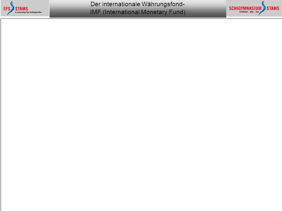 Der internationale Währungsfond- IMF (International Monetary Fund) he (c) 1 Monitoring the financial world 21