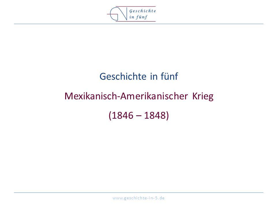 www.geschichte-in-5.de Überblick Datum 25.Apr. 1846 – 02.