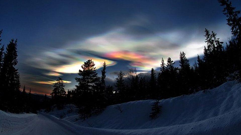 Perlmuttwolken, Arktis