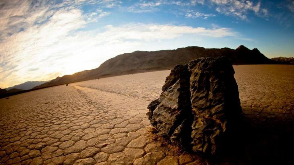 Wandernde Steine, Death Valley (USA)