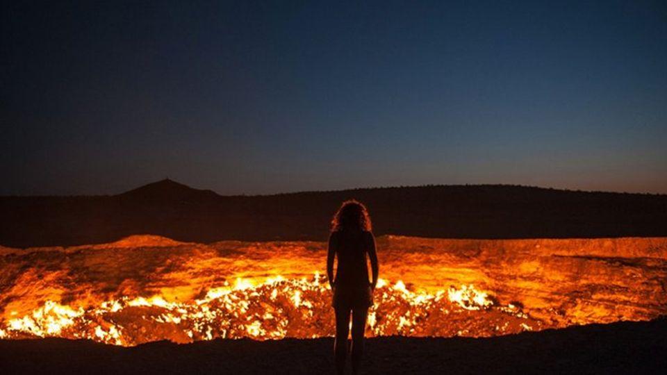 Das Tor zur Hölle, Turkmenistan