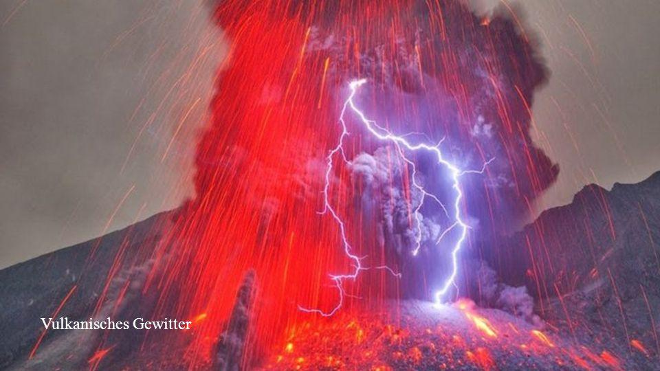 Vulkanisches Gewitter