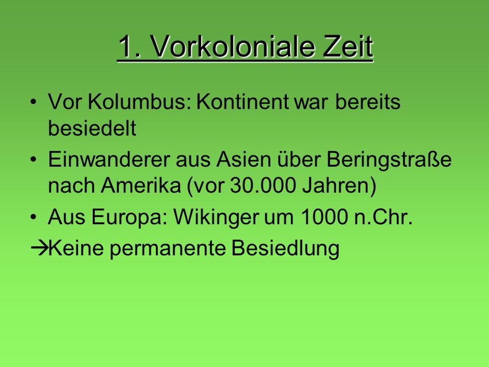 Gliederung 1.Vorkoloniale Zeit 2. Kolonialmächte 3.