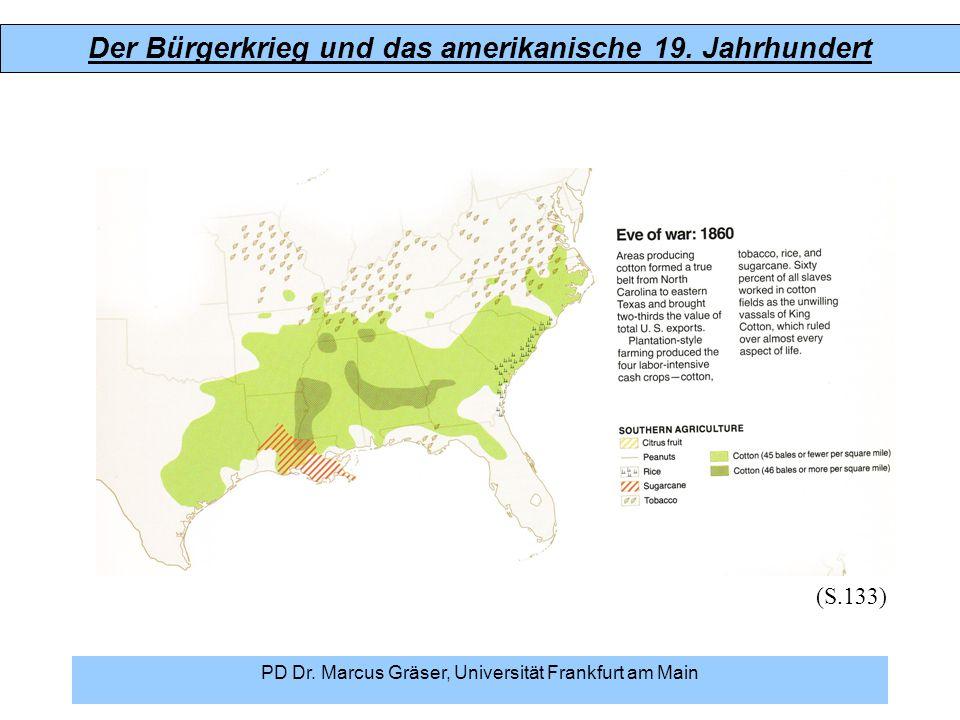 Der Bürgerkrieg und das amerikanische 19. Jahrhundert PD Dr. Marcus Gräser, Universität Frankfurt am Main (S.133)