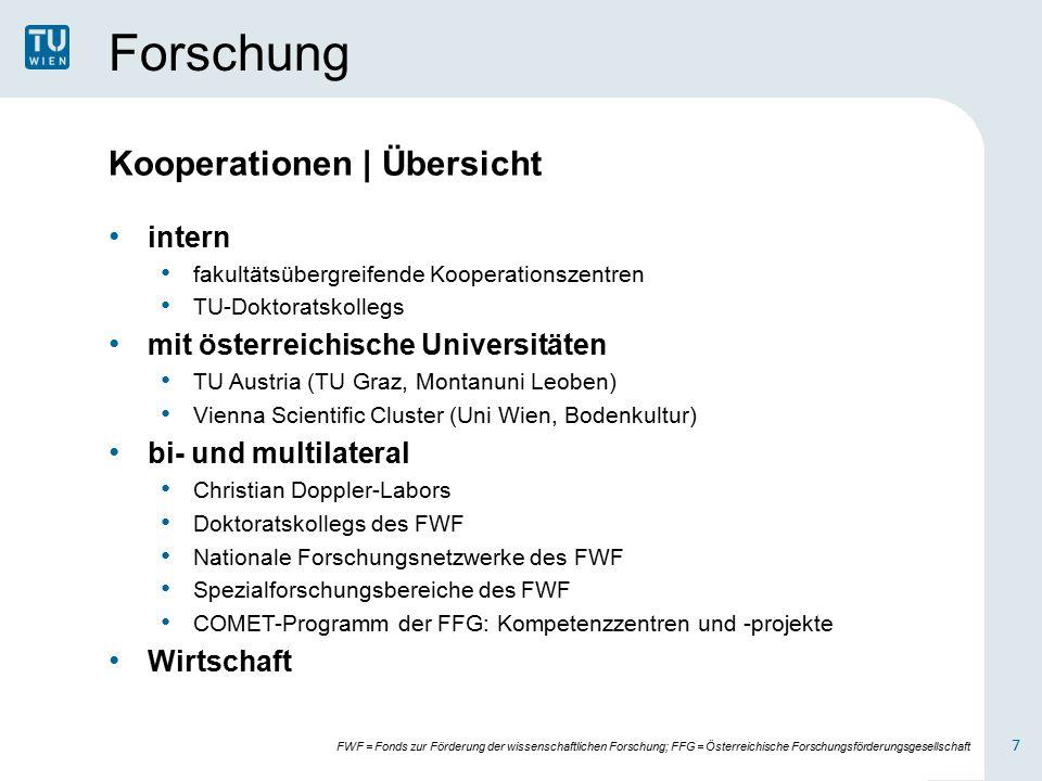 Organisation Universitätsleitung 2/2 Dem Universitätsrat gehren sieben Mitglieder aus Wirtschaft und Wissenschaft an.