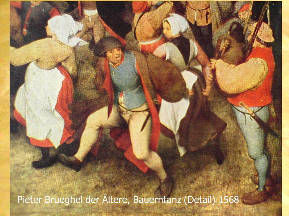 Pieter Brueghel der Ältere, Bauerntanz (Detail) 1568
