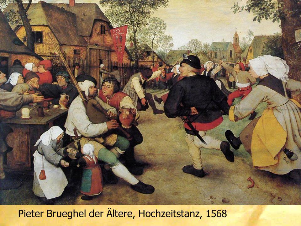 Pieter Brueghel der Ältere, Hochzeitstanz, 1568
