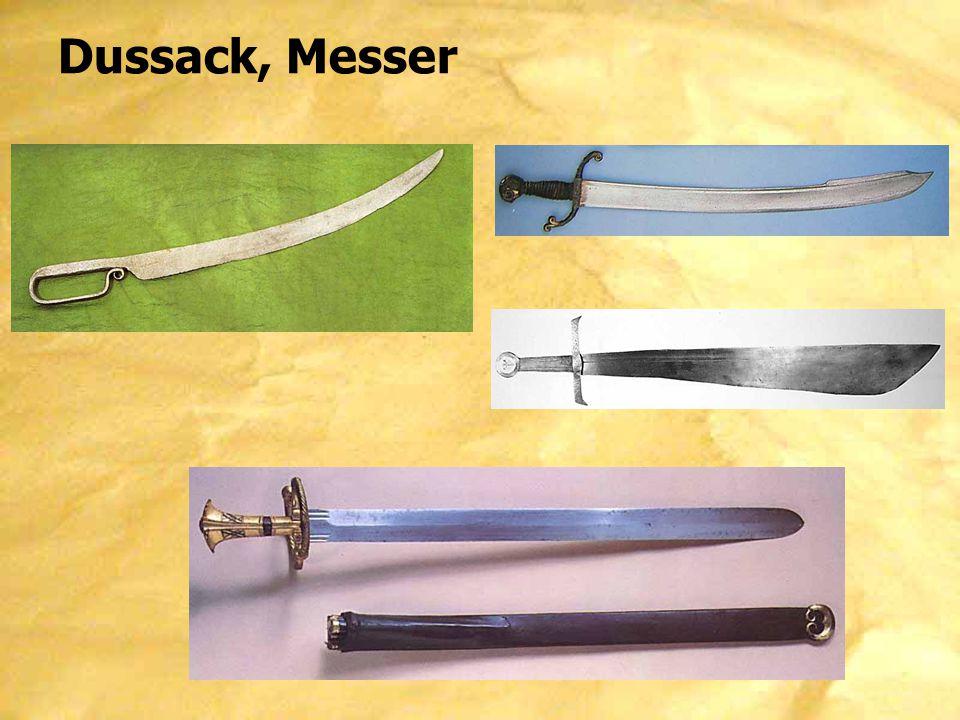 Dussack, Messer