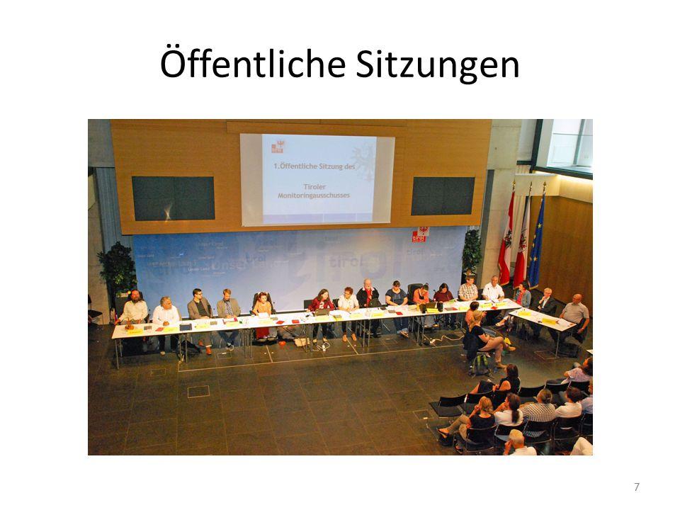 Öffentliche Sitzungen 7