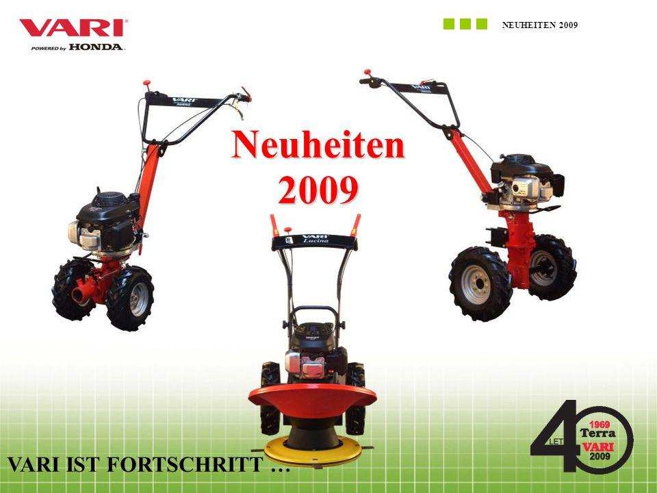 NEUHEITEN 2009 VARI IST FORTSCHRITT … Neuheiten2009