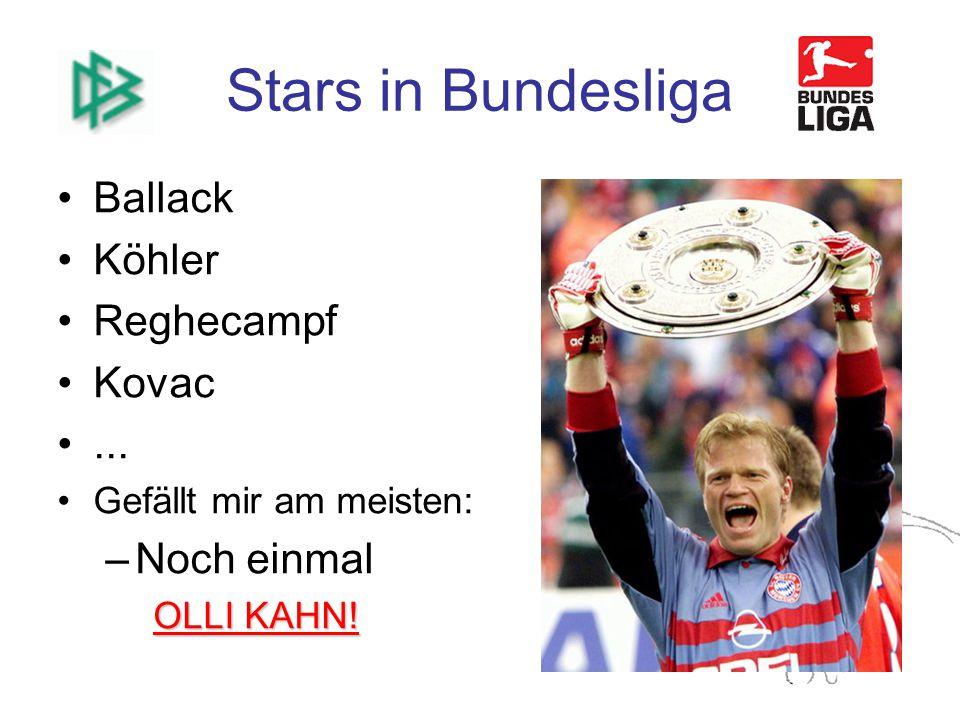 Stars in Bundesliga Ballack Köhler Reghecampf Kovac...