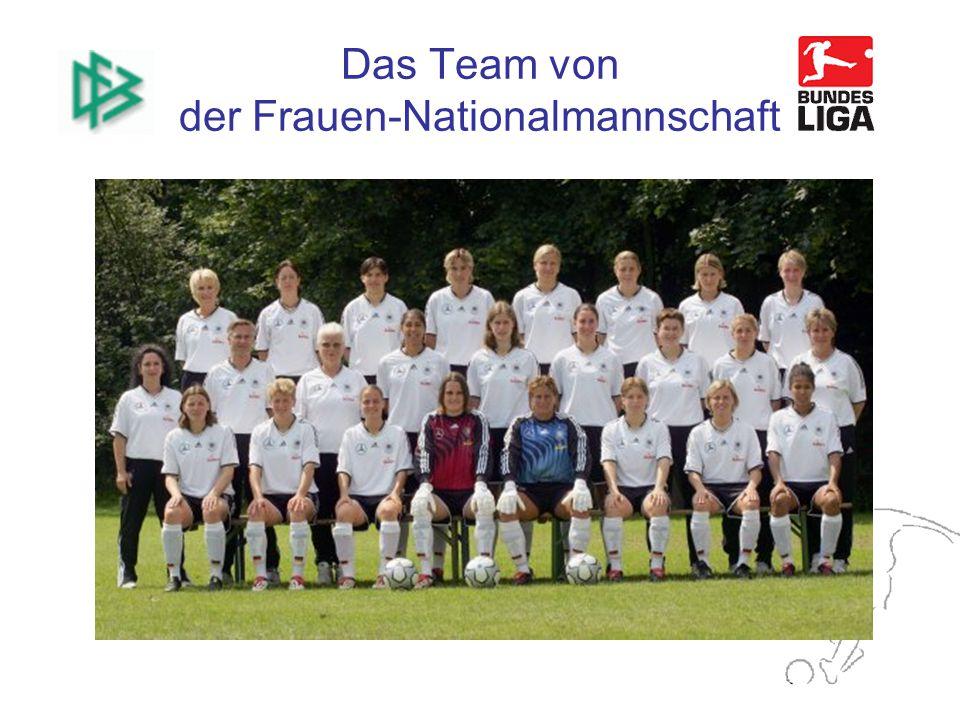 Das Team von der Frauen-Nationalmannschaft