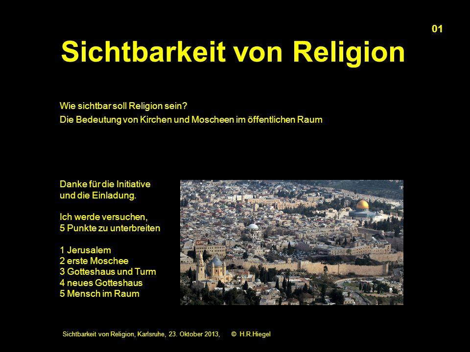 Sichtbarkeit von Religion, Karlsruhe, 23.