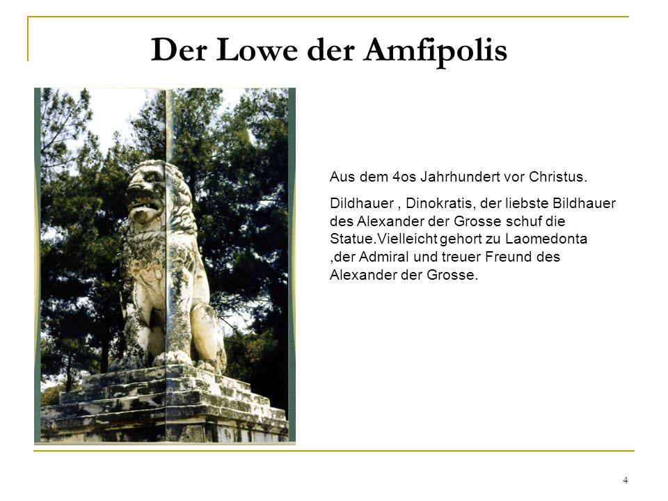 4 Aus dem 4os Jahrhundert vor Christus.