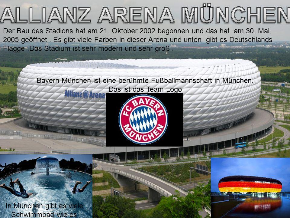 Der Bau des Stadions hat am 21. Oktober 2002 begonnen und das hat am 30. Mai 2005 geöffnet. Es gibt viele Farben in dieser Arena und unten gibt es Deu