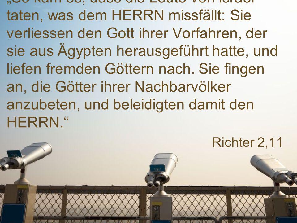 """Richter 6,13 """"Verzeihung, mein Herr."""