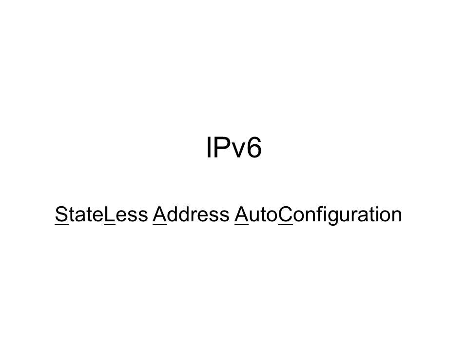 10.03.14IPv6 - SLAAC Peter Maaß 2 Voraussetzungen für die Autokonfiguration - Es ist keine Konfiguration von stateless address autoconfiguration (SLAAC) notwendig.