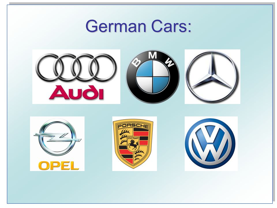 German Company Logos: