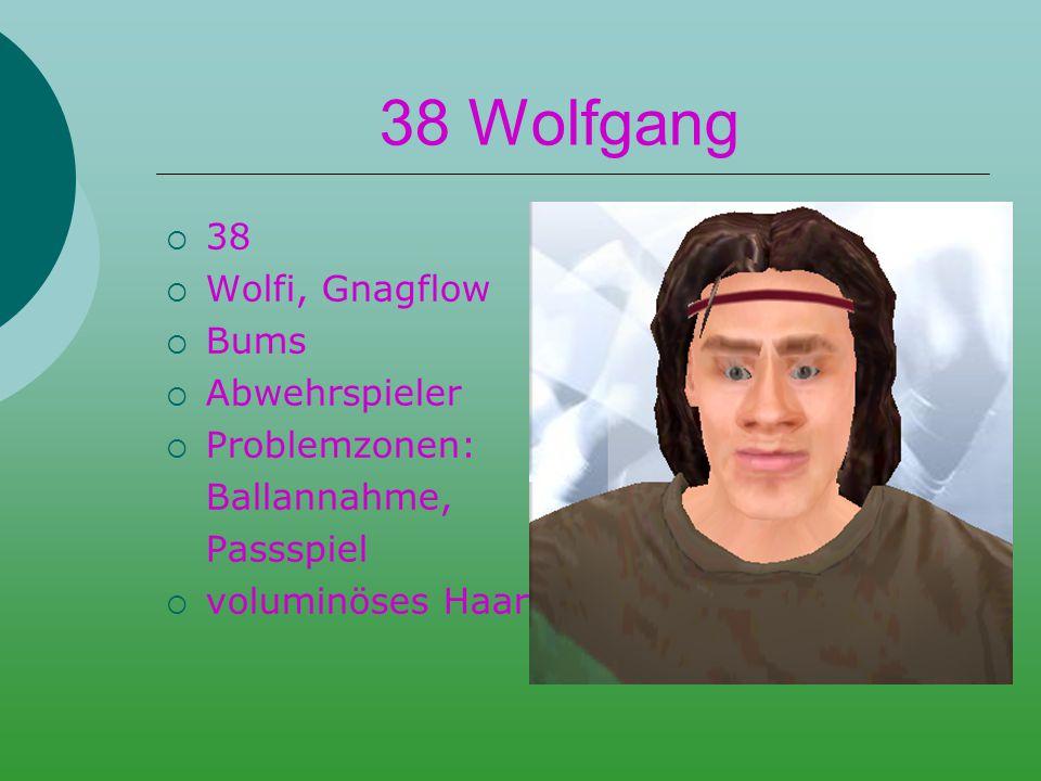 33 Luinator  33  Luisl  Bums  Mittelfeldspieler  grotten schlecht  hässlich