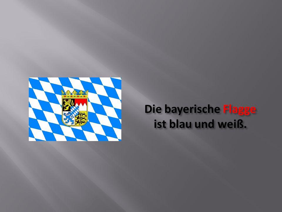 Das bayerische Staatswappen besteht aus sechs heraldischen Komponenten.