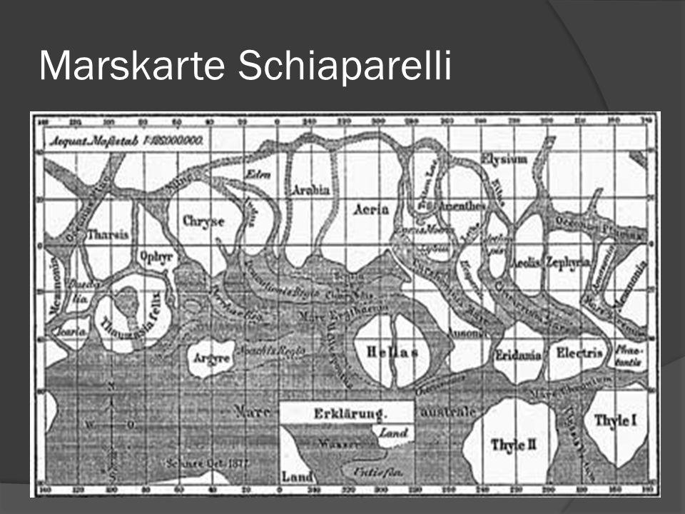 Marskarte Schiaparelli